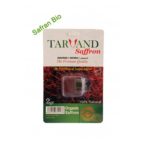 Safran poudre BIO 2 gr