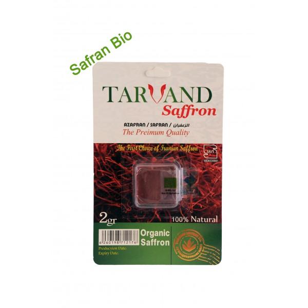 Safran poudre BIO 2 gr par lot de 5